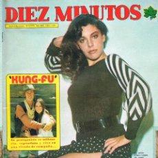 Coleccionismo de Revista Diez Minutos: DIEZ MINUTOS Nº 1159 10-11-1973 CHARO LOPEZ POSTER CENTRAL DAVID CARRADINE -KUNG-FU-. Lote 41222451