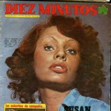 Coleccionismo de Revista Diez Minutos: DIEZ MINUTOS Nº 1129 14-4-1973 NADIUSKA SIN POSTER. Lote 41236605