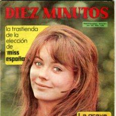 Coleccionismo de Revista Diez Minutos: DIEZ MINUTOS Nº 1060 18-12-1971 MIS ESPAÑA KATHERINE HERBURN ETC..... Lote 41270518