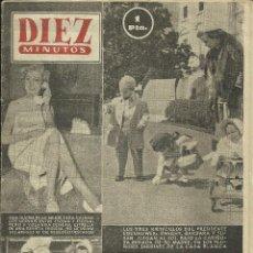Coleccionismo de Revista Diez Minutos: REVISTA DIEZ MINUTOS 1953 19 PAG-. Lote 41385092