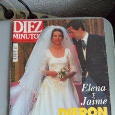 Coleccionismo de Revista Diez Minutos: REVISTA DIEZ MINUTOS . 1995. Lote 41490422