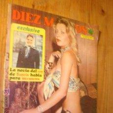 Coleccionismo de Revista Diez Minutos: REVISTA DIEZ MINUTOS Nº1176- 1974 . EN PORTADA: LORETA TOVAR. Lote 3769425