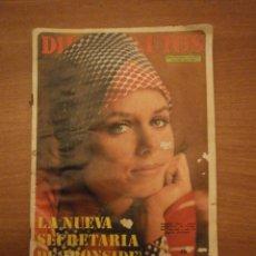 Coleccionismo de Revista Diez Minutos: REVISTA DIEZ MINUTOS - 13 / 5 / 1972- Nº 1081- . Lote 42444361
