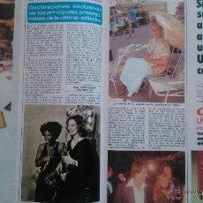 Coleccionismo de Revista Diez Minutos: RECORTES LOS OSCARS FAYE DUNAWAY SYLVESTER STALLONE BARBARA STREISAND. Lote 43119565