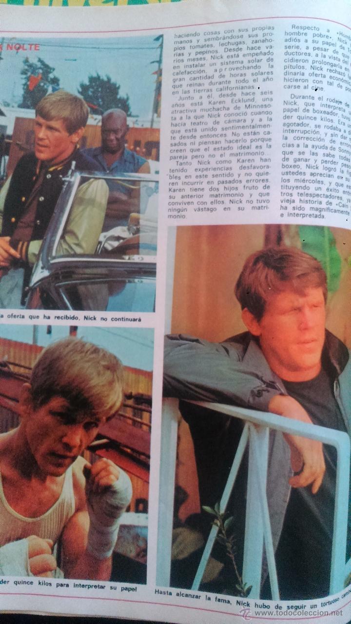 Coleccionismo de Revista Diez Minutos: RECORTES NICK NOLTE - Foto 2 - 43119649