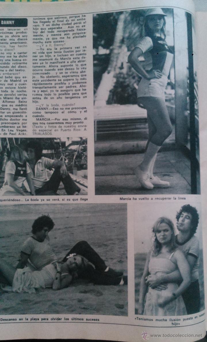 Coleccionismo de Revista Diez Minutos: RECORTES MARCIA BELL DANNY DANIEL - Foto 2 - 43119750