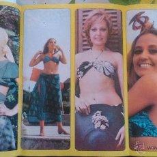 Coleccionismo de Revista Diez Minutos: SEX POSTER ANALIA GADE DIEZ MINUTOS. Lote 43119802