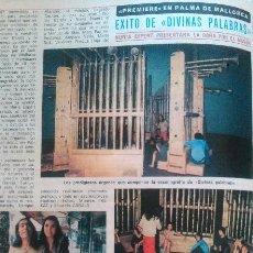 Coleccionismo de Revista Diez Minutos: RECORTES DE NURIA ESPERT DIVINAS PALABRAS. Lote 43157247
