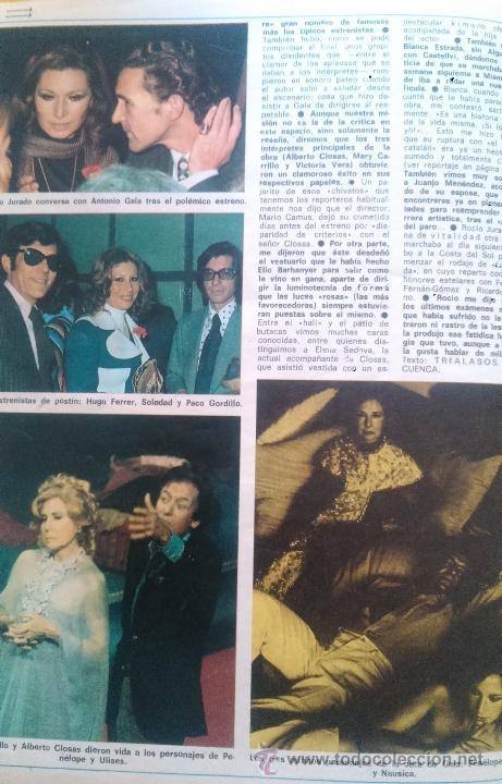 Coleccionismo de Revista Diez Minutos: recortes de MARY CARRILLO BLANCA ESTRADA VICTORIA VERA ROCIO JURADO HURTADO ALBERTO CLOSAS - Foto 2 - 43157252