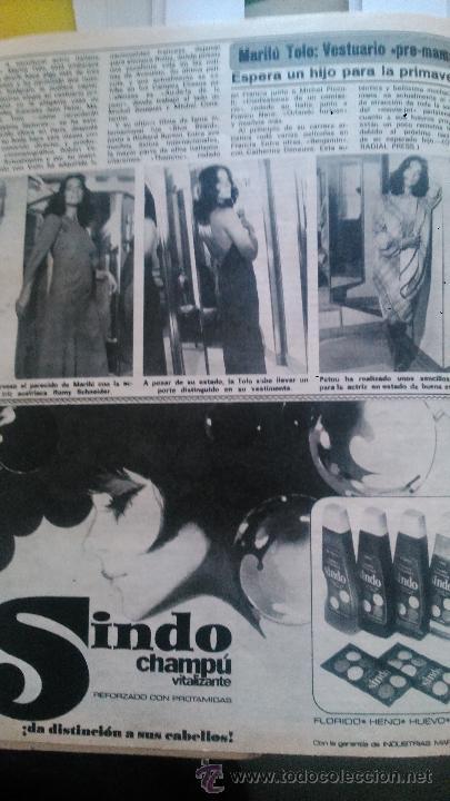 RECORTES DE MARILU TOLO (Coleccionismo - Revistas y Periódicos Modernos (a partir de 1.940) - Revista Diez Minutos)