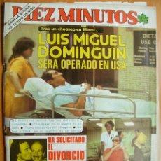 Coleccionismo de Revista Diez Minutos: DIEZ MINUTOS Nº1587-23/1/82-ROCIO JURADO-JULIO IGLESIAS-LOS REYES-SERRAT-DIANA-. Lote 43345520
