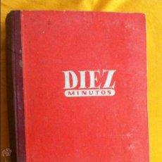 Coleccionismo de Revista Diez Minutos: TOMO ENCUADERNADO ( DIEZ MINUTOS ) , AÑO 1954 COMPLETO #MARILYN MONROE,MARUJITA DIAZ,ETC.... Lote 43450868