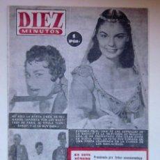 Coleccionismo de Revista Diez Minutos: DIEZ MINUTOS - Nº 133 - 1954. Lote 43485157