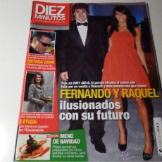 Coleccionismo de Revista Diez Minutos: REVISTA DIEZ MINUTOS DICIEMBRE 2007 Nº 2939. Lote 43503561