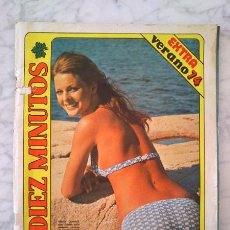 Coleccionismo de Revista Diez Minutos: DIEZ MINUTOS - 1974 - RAQUEL WELCH, ROMINA POWER, SHEILA MAC CORMICK, SACHA DISTEL, JOHNNY HALLYDAY. Lote 43505186