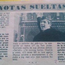 Coleccionismo de Revista Diez Minutos: RECORTES DE RAPHAEL. Lote 43887976