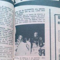Coleccionismo de Revista Diez Minutos: RECORTES DE ANITA EKBERG MARUJITA DIAZ . Lote 43891935