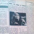 Coleccionismo de Revista Diez Minutos: RECORTES DE MARIE LAFORET. Lote 149762122