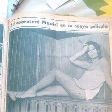 Collectionnisme de Magazine Diez Minutos: RECORTES MASSIEL. Lote 43903345