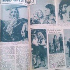 Coleccionismo de Revista Diez Minutos: RECORTES TWIGGY. Lote 43903350