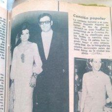 Coleccionismo de Revista Diez Minutos: RECORTES SALOME. Lote 43903399