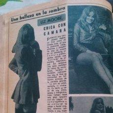 Coleccionismo de Revista Diez Minutos: RECORTES LIZ MOORE. Lote 43940920