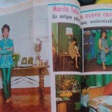 Coleccionismo de Revista Diez Minutos: RECORTES MARILU TOLO. Lote 43943487