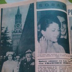 Coleccionismo de Revista Diez Minutos: RECORTES SORAYA. Lote 43944791