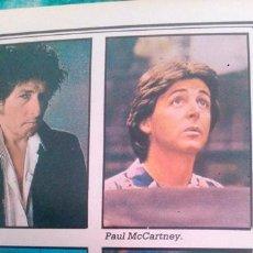 Coleccionismo de Revista Diez Minutos: RECORTES DE THE BEATLES LOS JOHN LENNON - GEORGE HARRISON - PAUL MCCARTNEY - RINGO STARR. Lote 43956072