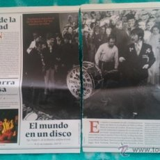 Coleccionismo de Revista Diez Minutos: RECORTES DE THE BEATLES LOS JOHN LENNON - GEORGE HARRISON - PAUL MCCARTNEY - RINGO STARR. Lote 43958627
