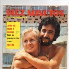 Coleccionismo de Revista Diez Minutos: DIEZ MINUTOS Nº 1096*1972*POSTER GEORGE MAHARIS*ELVIS PRESLEY*ENCARNITA POLO*. Lote 44021145