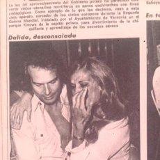 Coleccionismo de Revista Diez Minutos: RECORTES DALIDA. Lote 58368641