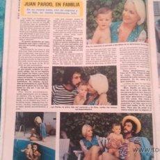 Coleccionismo de Revista Diez Minutos: RECORTES JUAN PARDO. Lote 210716372