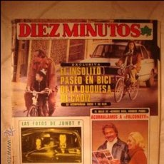 Coleccionismo de Revista Diez Minutos: REVISTA DIEZ MINUTOS . Lote 32791067