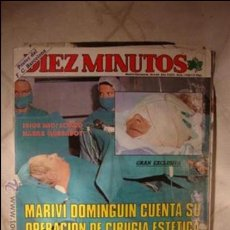Coleccionismo de Revista Diez Minutos: REVISTA DIEZ MINUTOS. Lote 32792259