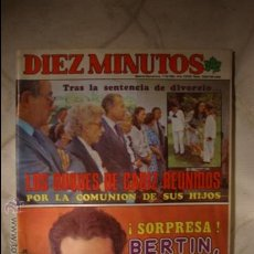 Coleccionismo de Revista Diez Minutos: REVISTA DIEZ MINUTOS. Lote 32792253