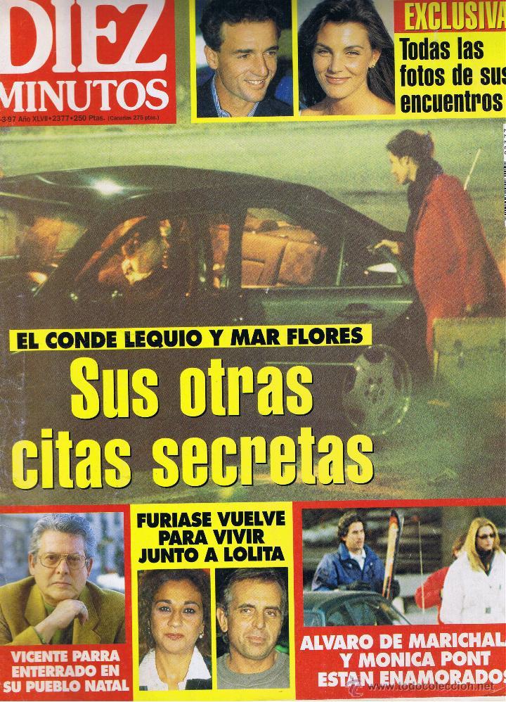 REVISTA DIEZ MINUTOS - Nº 2377 - MARZO 1997 - LEQUIO-MAR FLORES - VICENTE PARRA - LOLITA (Coleccionismo - Revistas y Periódicos Modernos (a partir de 1.940) - Revista Diez Minutos)