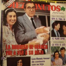Coleccionismo de Revista Diez Minutos: LA50 DIEZ MINUTOS AÑO 1985 Nº 1760 DUQUESA FRANCO CARMEN MARTINEZ BORDIU. Lote 45950752