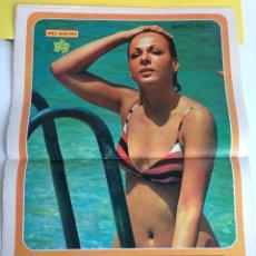 Coleccionismo de Revista Diez Minutos: CARTEL POSTER DIEZ MINUTOS MARILU TOLO AGOSTO 1973. Lote 46438132