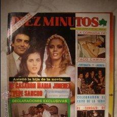 Coleccionismo de Revista Diez Minutos: REVISTA DIEZ MINUTOS . Lote 32790880