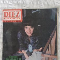 Coleccionismo de Revista Diez Minutos: REVISTA DIEZ MINUTOS Nº 709 27 MARZO 1965. Lote 46925827