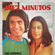 Coleccionismo de Revista Diez Minutos: DIEZ MINUTOS - 1972 - BODA DE RAPHAEL Y NATALIA FIGUEROA, BENIDORM 72, TERESA RABAL, SHELLEY WINTERS. Lote 47501908