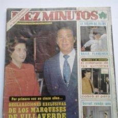 Coleccionismo de Revista Diez Minutos: DIEZ MINUTOS 1980. Lote 47612933