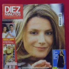 Coleccionismo de Revista Diez Minutos: INTERESANTE REVISTA.DIEZ MINUTOS.LETIZIA SE RETOCA LA NARIZ.Nº 2976.SEPTIEMBRE 2008. Lote 49078017