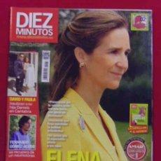Coleccionismo de Revista Diez Minutos: INTERESANTE REVISTA.DIEZ MINUTOS.ELENA EN SU PEOR MOMENTO.Nº 2981.OCTUBRE 2008. Lote 49078106