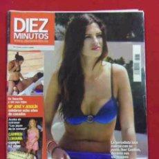 Coleccionismo de Revista Diez Minutos: INTERESANTE REVISTA.DIEZ MINUTOS.SARA CARBONERO ESPECTACULAR EN BIQUINI.Nº 2077.AGOSTO 2010. Lote 49078146