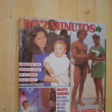 Collectionnisme de Magazine Diez Minutos: REVISTA Nº 1948 - AÑO 1988 - PORTADA LOLA FLORES-MIRIAM - CAMILO SESTO. Lote 50350170