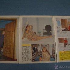 Coleccionismo de Revista Diez Minutos: REVISTA DIEZ MINUTOS REPORTAJE TRIPTICO A DOS CARAS DE CARMEN SEVILLA. Lote 50871132