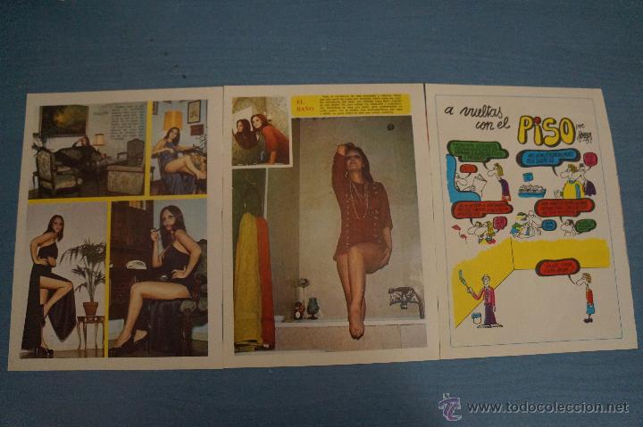 Coleccionismo de Revista Diez Minutos: REVISTA DIEZ MINUTOS REPORTAJE TRIPTICO A DOS CARAS DE PALOMA CELA - Foto 2 - 50874052