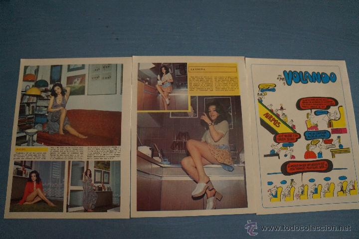 Coleccionismo de Revista Diez Minutos: REVISTA DIEZ MINUTOS REPORTAJE TRIPTICO A DOS CARAS DE CARMEN MAURA - Foto 2 - 50874251